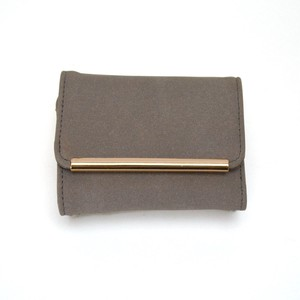 Gold Line Plate Trifold Wallet