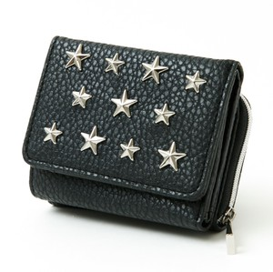 Star Studs Trifold Wallet Wallet Ladies Wallet Coin Purse