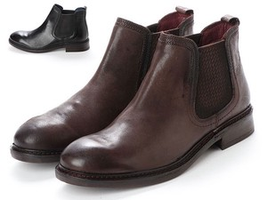 2 Colors Genuine Leather Men's Boots
