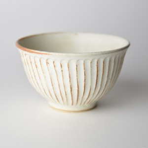 Mashiko Ware Rice Bowl Cream Mat