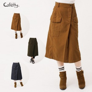Straight Skirt Knee-high Cafetty