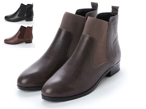 3 Colors Genuine Leather Short Boots A/W
