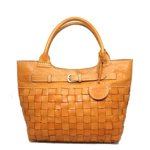 Leather Mesh Bag