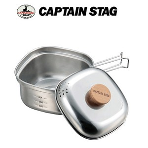 Captain Stag Stainless Square Shape Ramen Cooker