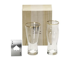 To Drink Set Wood Boxed