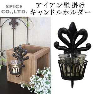 Candle 2018 A/W Iron Wall Hanging Product Candle Holder