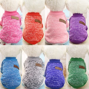 Pet 8 Colors Set of Assorted Dog Sweater