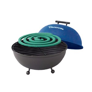 Sold Out Iron Mosquito Coil Stand Grill Blue