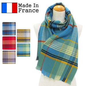 Clearance Sale A/W Scarf France Checkered Scarf