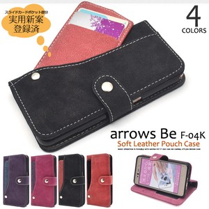 Smartphone Case Ride Card Pocket soft Leather Notebook Type Case