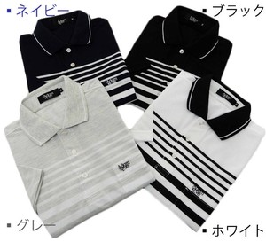 Kanoko Short Sleeve Polo Shirt 4 Colors
