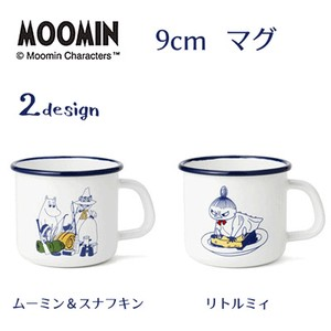 Fuji Enamel Honey The Moomins 9cm Mug The Moomins Napkin Little My