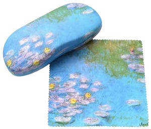 Famous Painting Eyeglass Case Eyeglass Attached