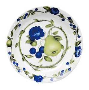 Pasta Plate Plate Botanical rose