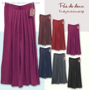 A/W ponte fabric Tuck Pleats Scants
