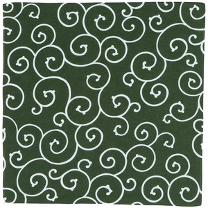 """Furoshiki"" Japanese Traditional Wrapping Cloth Arabesque Green"