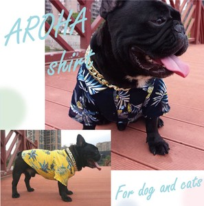Pet Product Dog Botanical for Cat Aloha Shirt Pet