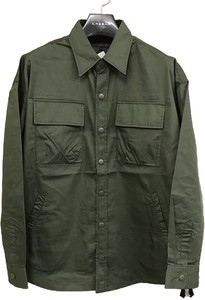 Twill Big Shirt Long Sleeve Shirt