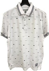 Kanoko Whale Print Short Sleeve Polo Shirt