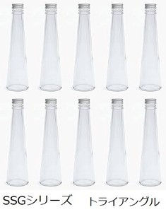 Glass Bottle 10 Pcs Set