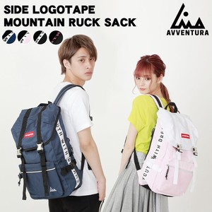 Tape Mountain Backpack Nylon Ladies Men's