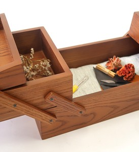Sewing Box Wooden Storage