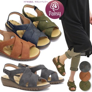 Pansy Sandal Shoe Ladies Strap Flat