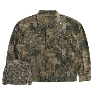 2018 A/W Men's Damage Processing Camouflage Big