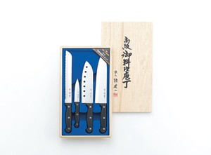 Cuisine Knife Set Paulownia Box