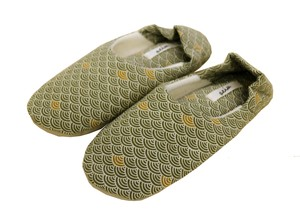 Soft Pipe Slipper Babouche Shoes Chopsticks Green