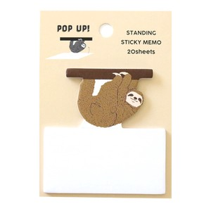 Sticky Memo Pad Sloth