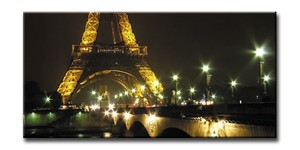 CANVAS ART<キャンバスアート>Paris Eiffel Tower<パリ>