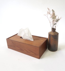 Tissue Box Wooden Storage