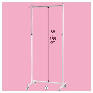 Assembly Clothes Hanger Rack