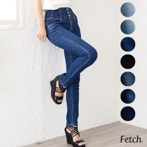Skinny Pants Denim Ladies Stretch Skinny Pants Tapered High-waisted