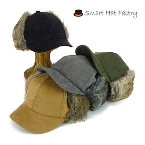 Fur Flap Suede Cap Young Hats & Cap
