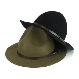 Leather Felt Mountain Hat Young Hats & Cap