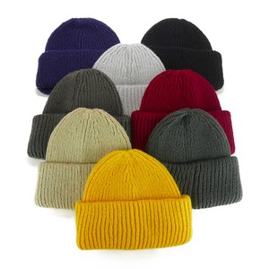 Short Knitted Watch Cap Young Hats & Cap