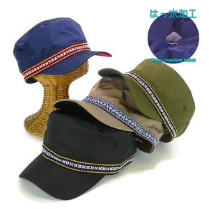 Water-Repellent Lian Tape Military Cap Young Hats & Cap