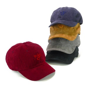 Embroidery CORDUROY Cap Young Hats & Cap