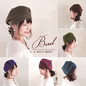 Free Arrangement Beret Ladies Hats & Cap
