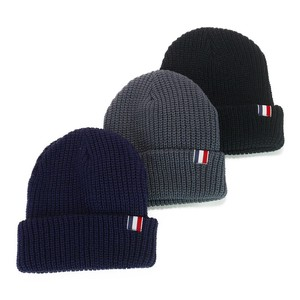 Tricolor Knitted Cap Young Hats & Cap