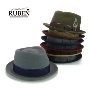 Ruben Rabbit fur Felt Hat Young Hats & Cap