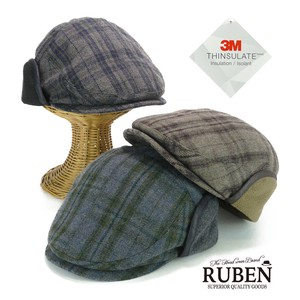 Ruben Cover Checkered Flat cap Young Hats & Cap