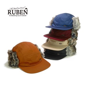 Ruben Nylon Fur Cap Young Hats & Cap