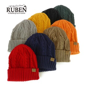 Ruben Color Knitted Watch Cap Young Hats & Cap