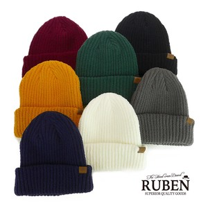Ruben All Knitted Watch Cap Young Hats & Cap