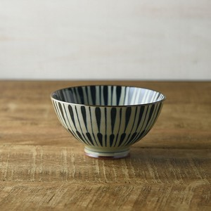 Tokusa Japanese Rice Bowl MINO Ware