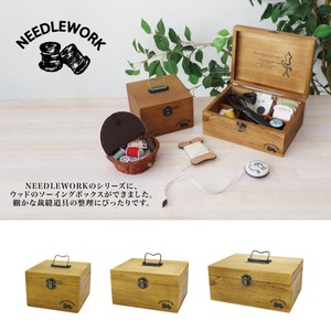 Sewing Wood Box 2018 A/W