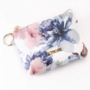 Watercolor flower Mini Pouch Broom